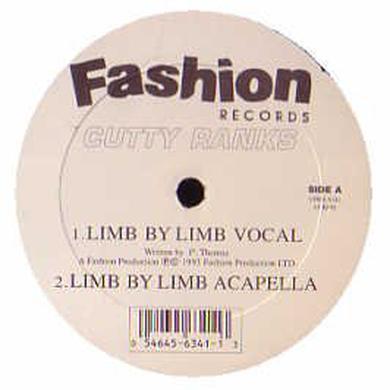 Cutty Ranks LIMB BY LIMB Vinyl Record