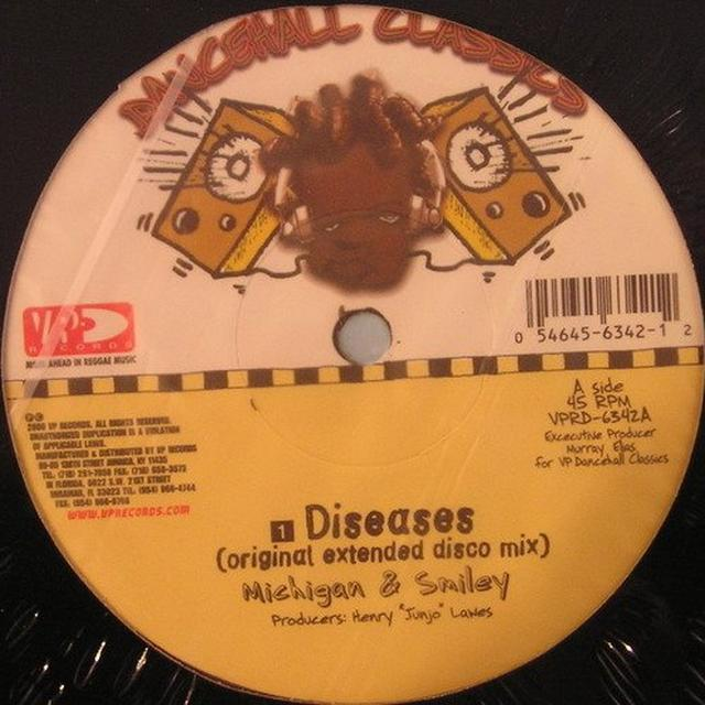 Michigan & Smily DISEAESES Vinyl Record