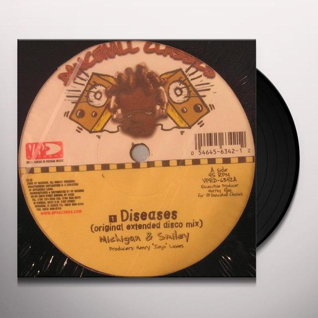 Michigan & Smily DISEAESES Vinyl Record