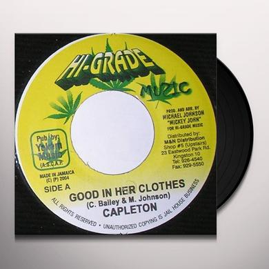 Capleton GOOD IN HER CLOTHES Vinyl Record