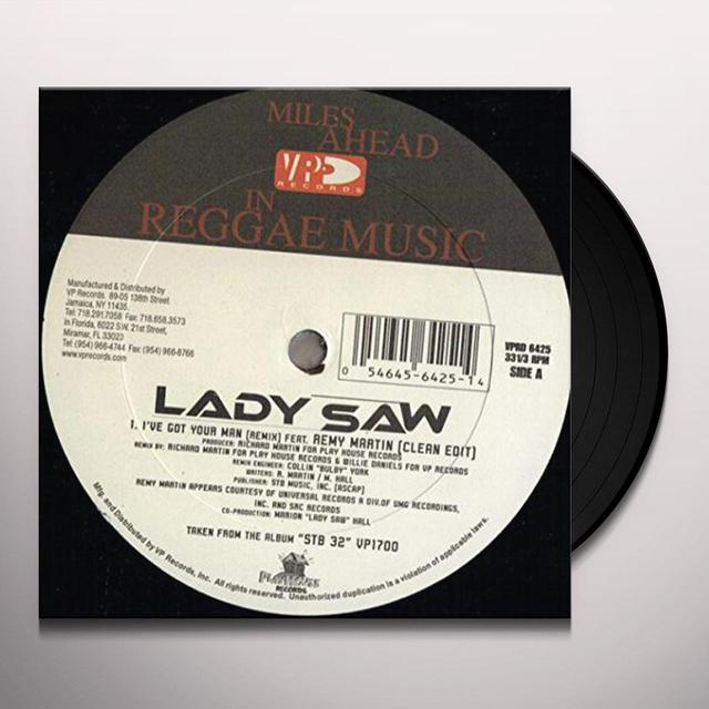Lady I'VE GOT YOUR MAN (REMIX) Vinyl Record