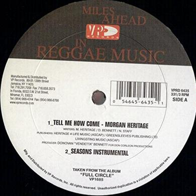 Morgan Heritage TELL ME HOW Vinyl Record
