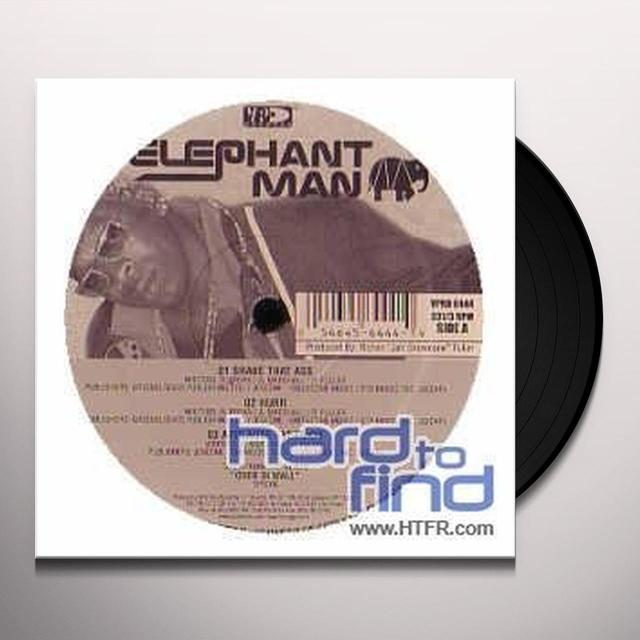 Elephant Man SHAKE THAT ASS Vinyl Record