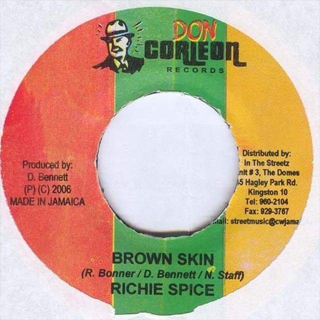 Richie Spice BROWN SKIN Vinyl Record