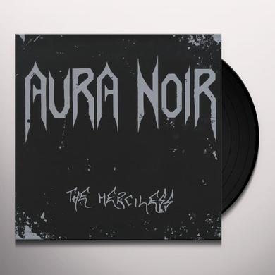 Aura Noir MERCILESS (BONUS TRACK) Vinyl Record - 180 Gram Pressing