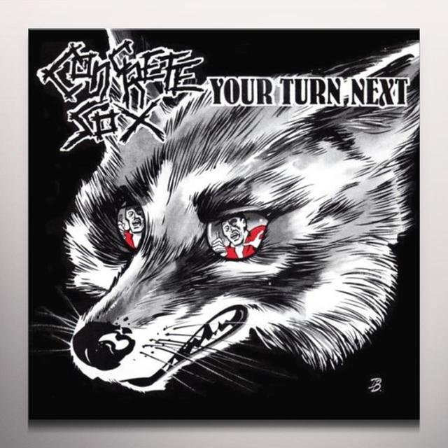 Concrete Sox YOUR TURN NEXT Vinyl Record - Colored Vinyl, Limited Edition, Reissue