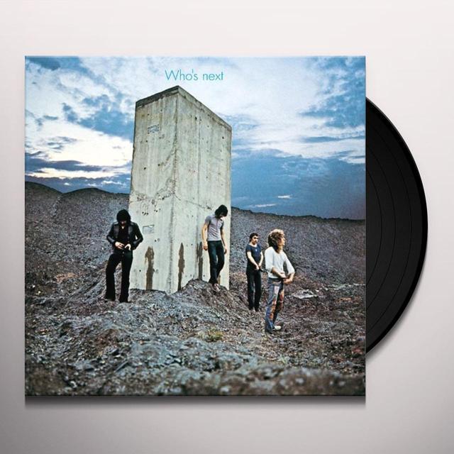 WHO'S NEXT Vinyl Record - Japan Import