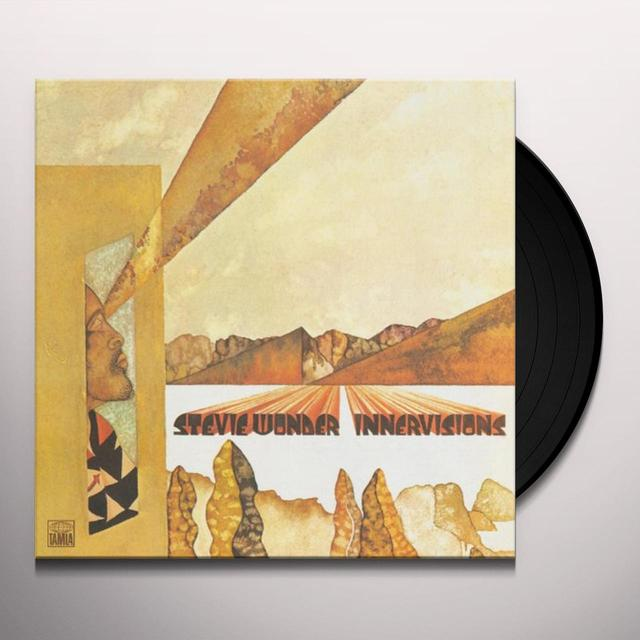 Stevie Wonder INNER VISIONS Vinyl Record - Japan Import