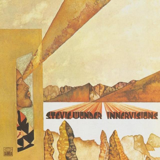 Stevie Wonder INNER VISIONS Vinyl Record - Japan Import