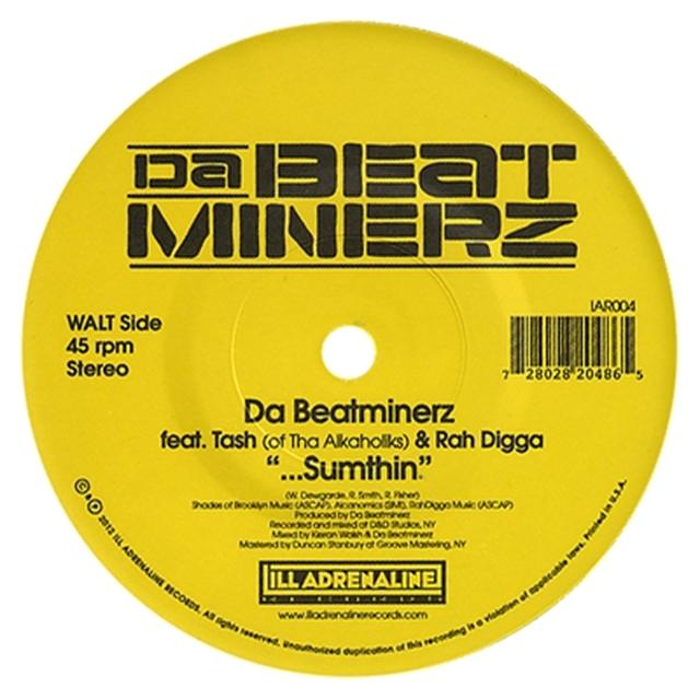 Da Beatminerz & Rah Digga / Black Star SUMTHIN / ANOTHER WORLD Vinyl Record