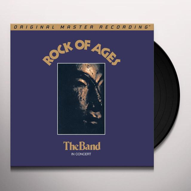 The Band ROCK OF AGES ( IN CONCERT ) Vinyl Record - Limited Edition, 180 Gram Pressing