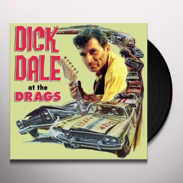 Dick Dale AT THE DRAGS Vinyl Record