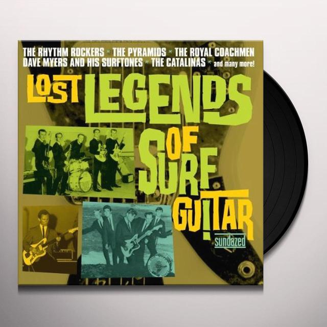 LOST LEGENDS OF SURF GUITAR / VARIOUS Vinyl Record