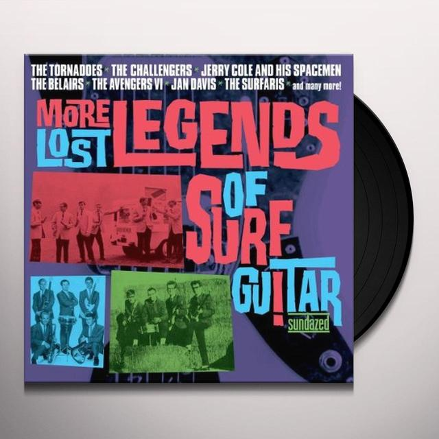 MORE LOST LEGENDS OF SURF GUITAR / VARIOUS Vinyl Record