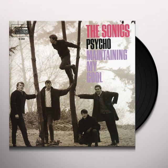 Sonics PSYCHO / MAINTAINING MY SOUL Vinyl Record