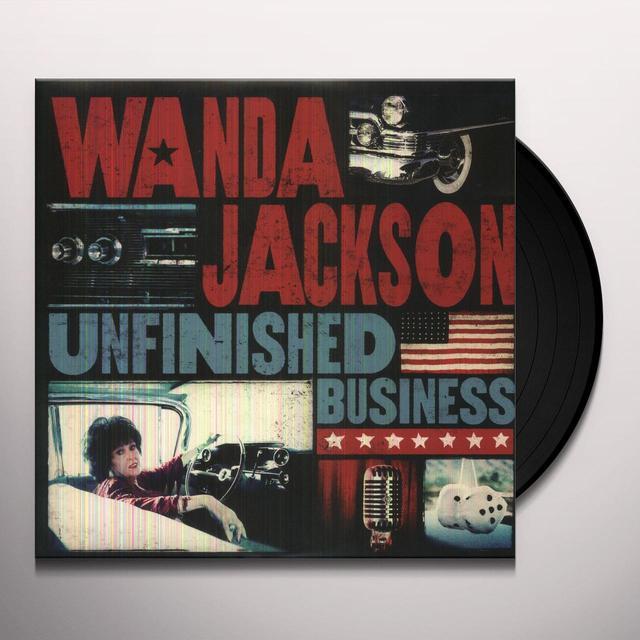 Wanda Jackson UNFINISHED BUSINESS Vinyl Record