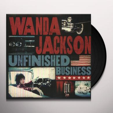 Wanda Jackson UNFINISHED BUSINESS Vinyl Record