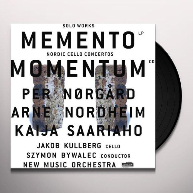 Norgard / Kullberg / New Music Orch / Bywalec MOMENTUM: NORDIC CELLO CONCERTOS Vinyl Record
