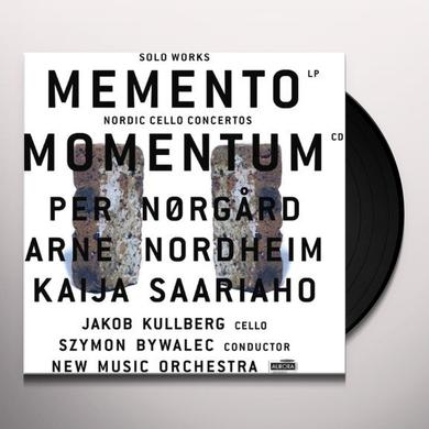 Norgard / Kullberg / New Music Orch / Bywalec MOMENTUM: NORDIC CELLO CONCERTOS Vinyl Record - w/CD