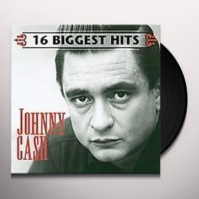 Johnny Cash 16 BIGGEST HITS Vinyl Record