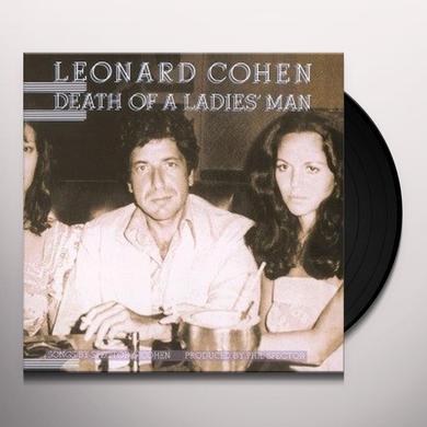 Leonard Cohen DEATH OF A LADIES MAN Vinyl Record - 180 Gram Pressing