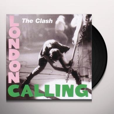 The Clash LONDON CALLING Vinyl Record - 180 Gram Pressing