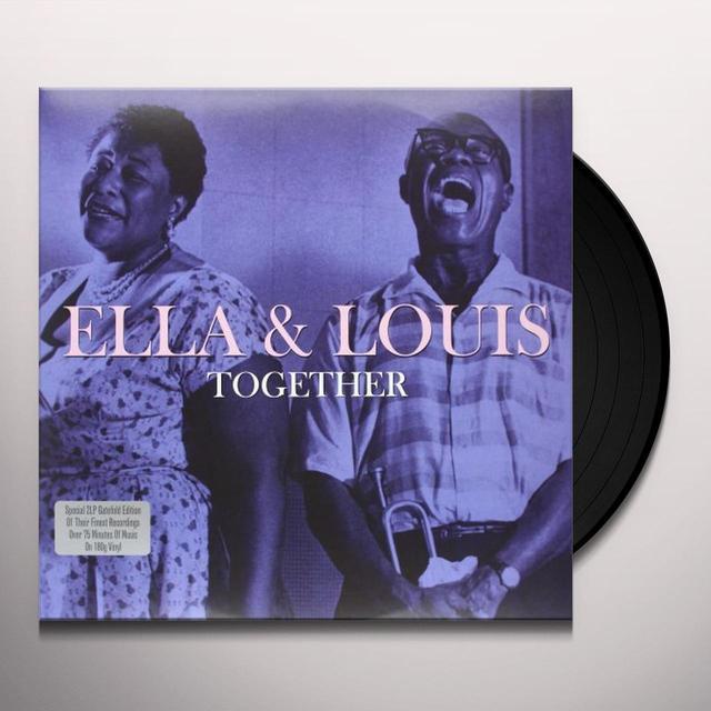 Ella Fitzgerald & Louis Armstrong  TOGETHER Vinyl Record - UK Import