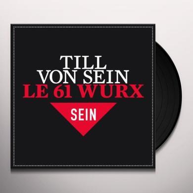 Till Von Sein 61 WURX Vinyl Record