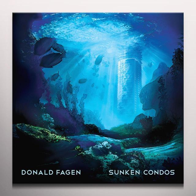 Donald Fagen SUNKEN CONDOS Vinyl Record - Clear Vinyl, 180 Gram Pressing