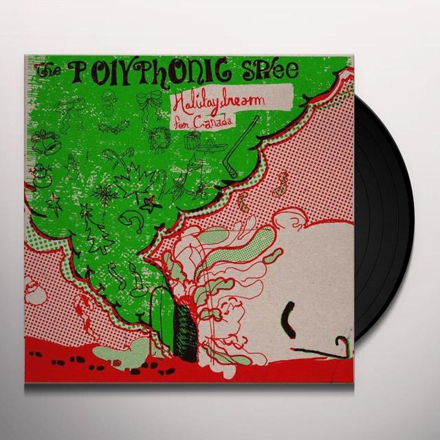 The Polyphonic Spree HOLIDAYDREAM 1 Vinyl Record