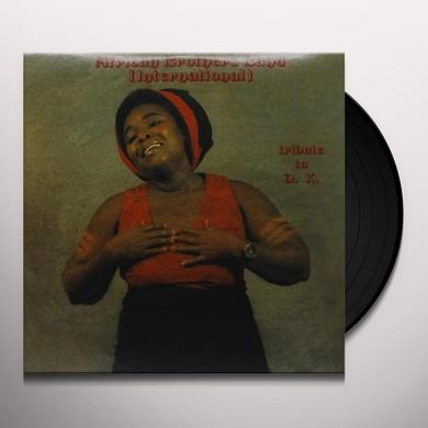 African Brothers TRIBUTE TO DK Vinyl Record - Deluxe Edition