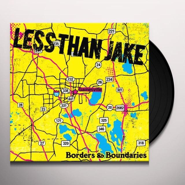 Less Than Jake BORDERS & BOUNDARIES Vinyl Record