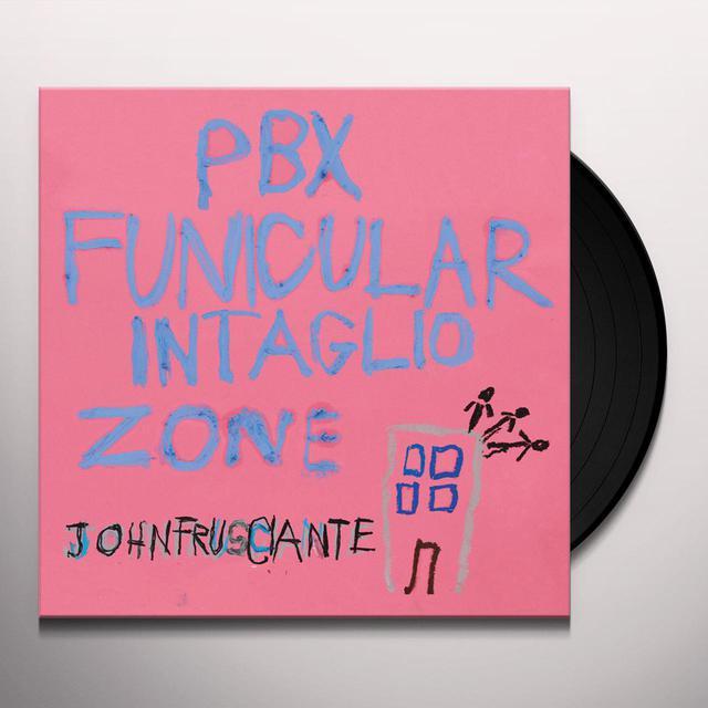 John Frusciante PBX FUNICULAR INTAGLIO ZONE Vinyl Record
