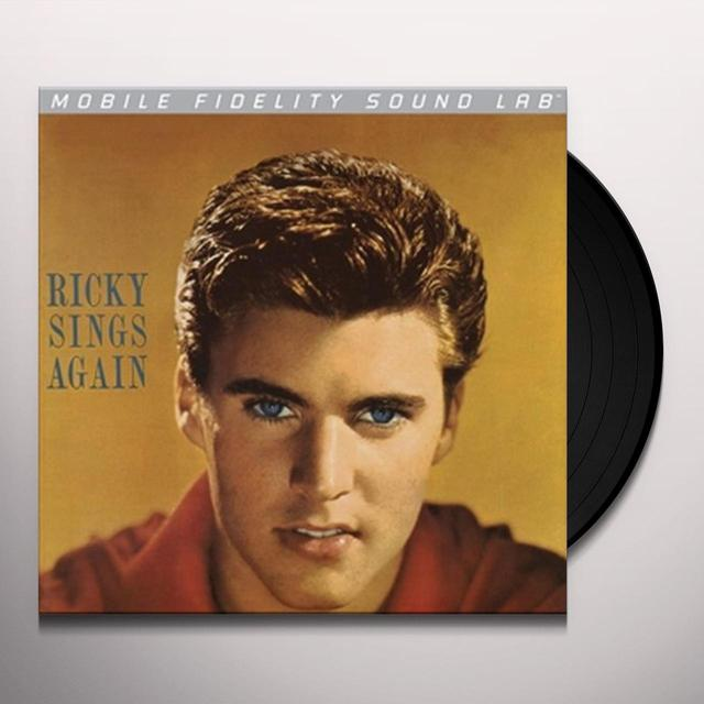 Ricky Nelson RICKY SINGS AGAIN Vinyl Record - Limited Edition