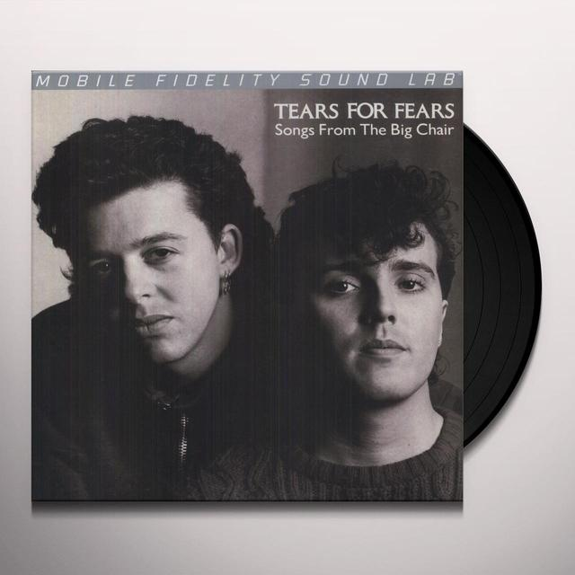 Tears For Fears SONGS FROM THE BIG CHAIR Vinyl Record - Limited Edition