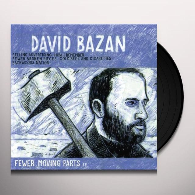 David Bazan FEWER MOVING PARTS Vinyl Record