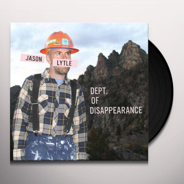 Jason Lytle DEPT OF DISAPPEARANCE Vinyl Record