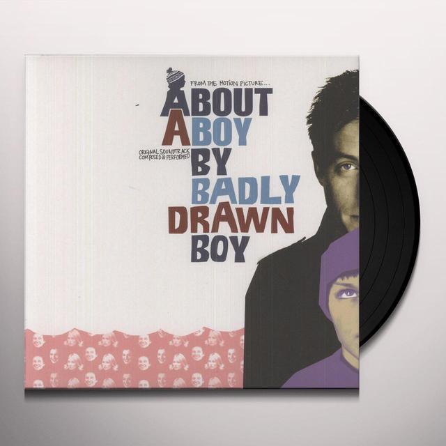 Badly Drawn Boy ABOUT A BOY Vinyl Record