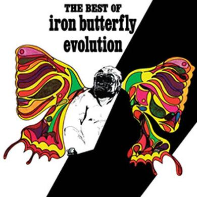 EVOLUTION: THE BEST OF THE IRON BUTTERFLY Vinyl Record