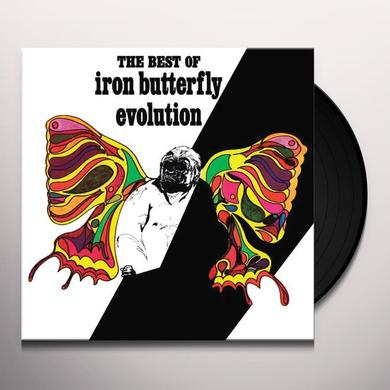 EVOLUTION: THE BEST OF THE IRON BUTTERFLY Vinyl Record - Limited Edition
