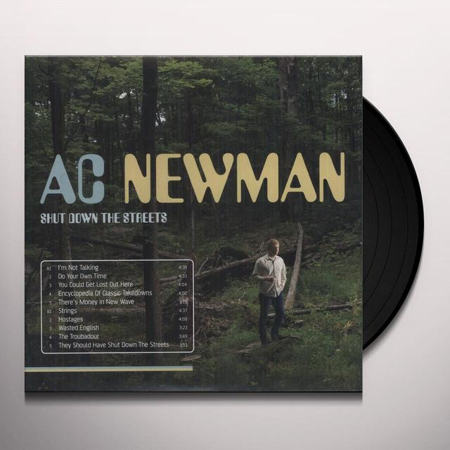 Ac Newman SHUT DOWN THE STREETS (MPDL) (Vinyl)