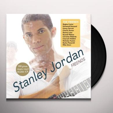 Stanley Jordan FRIENDS Vinyl Record