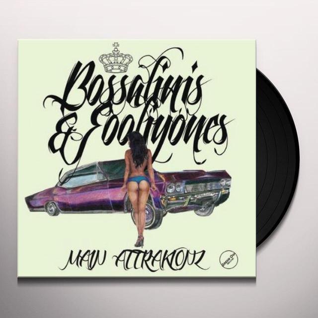Main Attrakionz BOSSALINIS & FOOLIYONES Vinyl Record