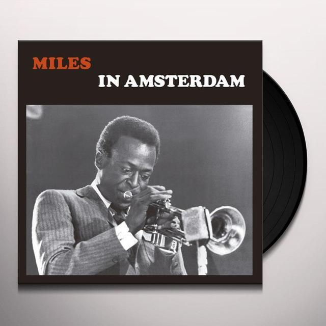 Miles Davis IN AMSTERDAM 1957 Vinyl Record - 180 Gram Pressing