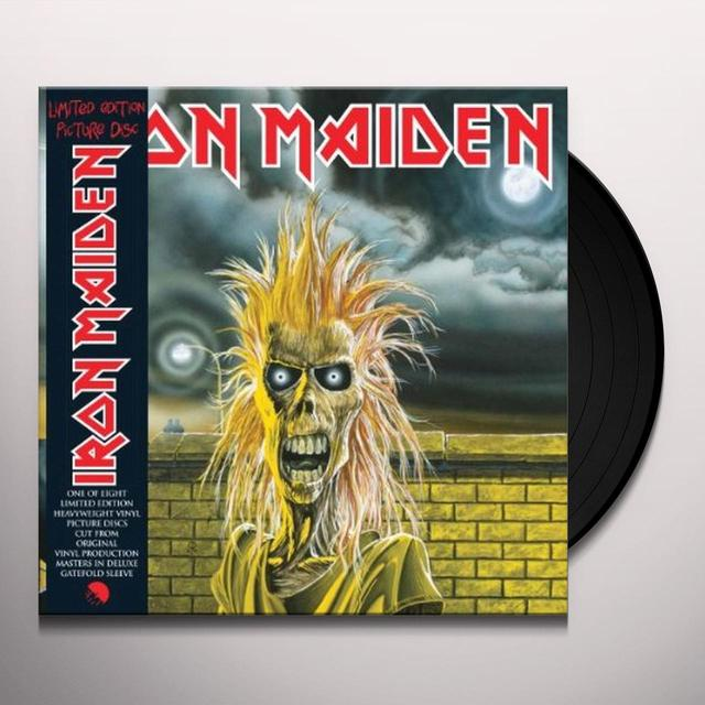 IRON MAIDEN Vinyl Record - Picture Disc