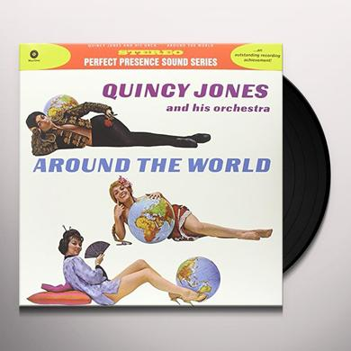 Quincy Jones AROUND THE WORLD (BONUS TRACKS) Vinyl Record - 180 Gram Pressing