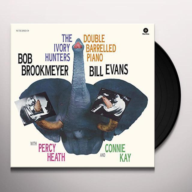 Bob Evans.Bill / Brookmeyer IVORY HUNTERS Vinyl Record - 180 Gram Pressing