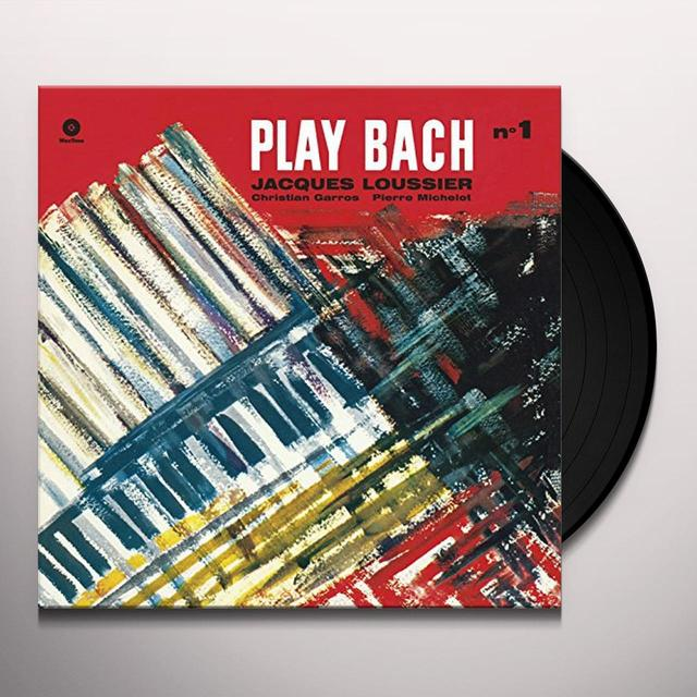 Jacques Loussier PLAY BACH 1 Vinyl Record - 180 Gram Pressing