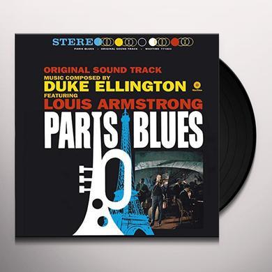 Duke Ellington / Louis Armstrong PARIS BLUES (BONUS TRACK) Vinyl Record - 180 Gram Pressing