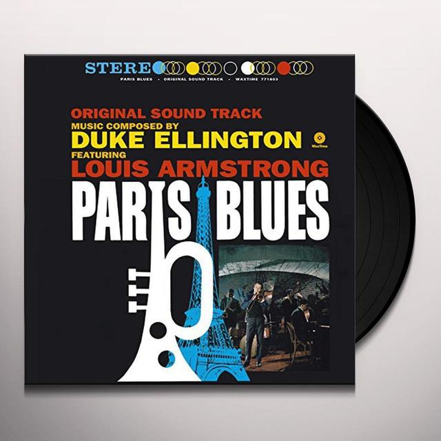 Duke Ellington / Louis Armstrong PARIS BLUES (BONUS TRACK) Vinyl Record - 180 Gram Pressing